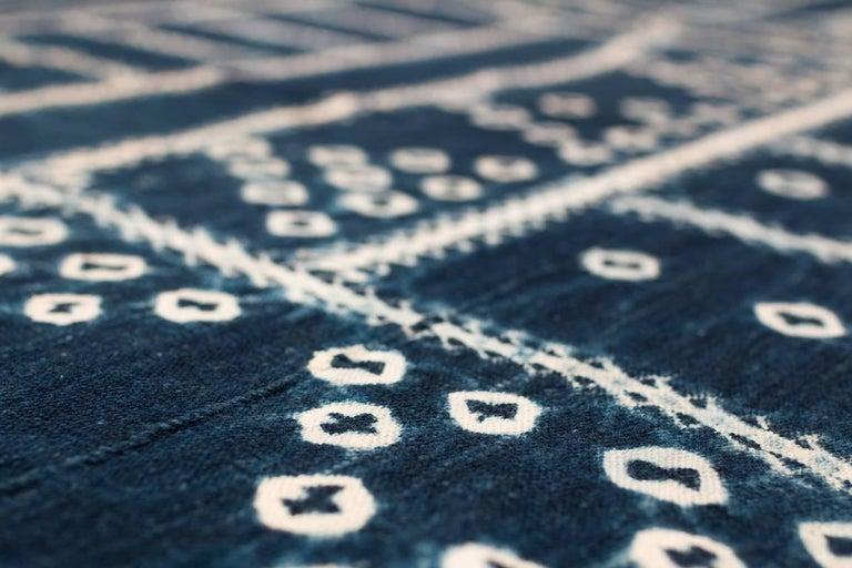 West African Indigo Textile For Sale 1