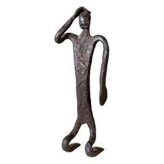 West African Iron Tribal Art Ritual Figure Mali Dogon or Bambara Bamana fine
