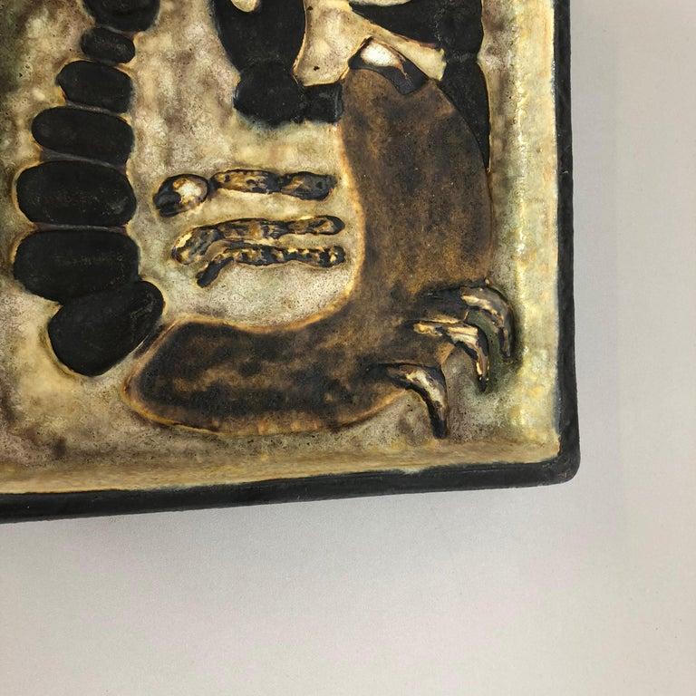 West German Ceramic Wall Plate