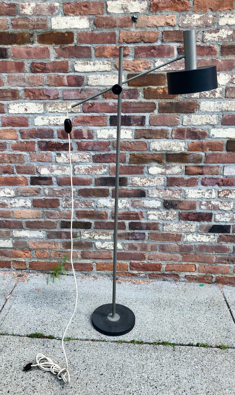 Mid-20th Century West German Modernist Floor Lamp For Sale