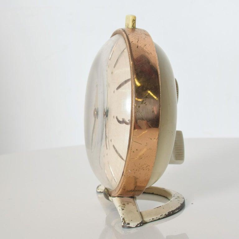 American Westclox BIG BEN Brass Alarm Table Clock of Tomorrow Classic Collectible 1955