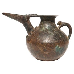 Western Asiatic Bronze Persian Tepe Libation Vessel