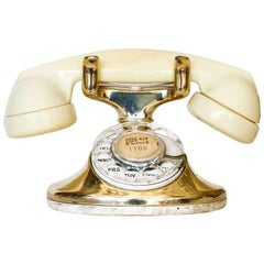 Western Electric Gold-Plated Telephone Owned by Actress Paulette Goddard