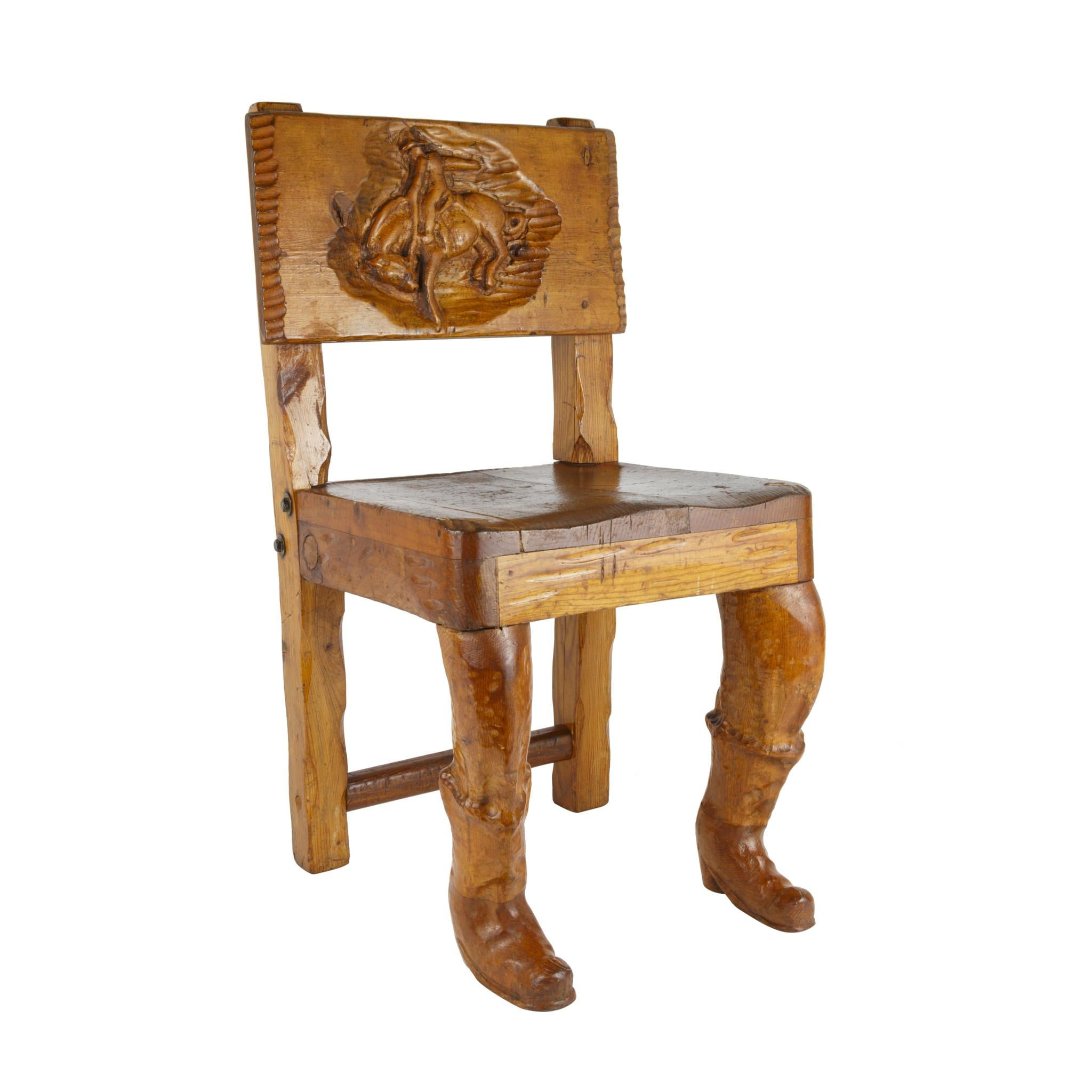 Western Themed Child's Chair