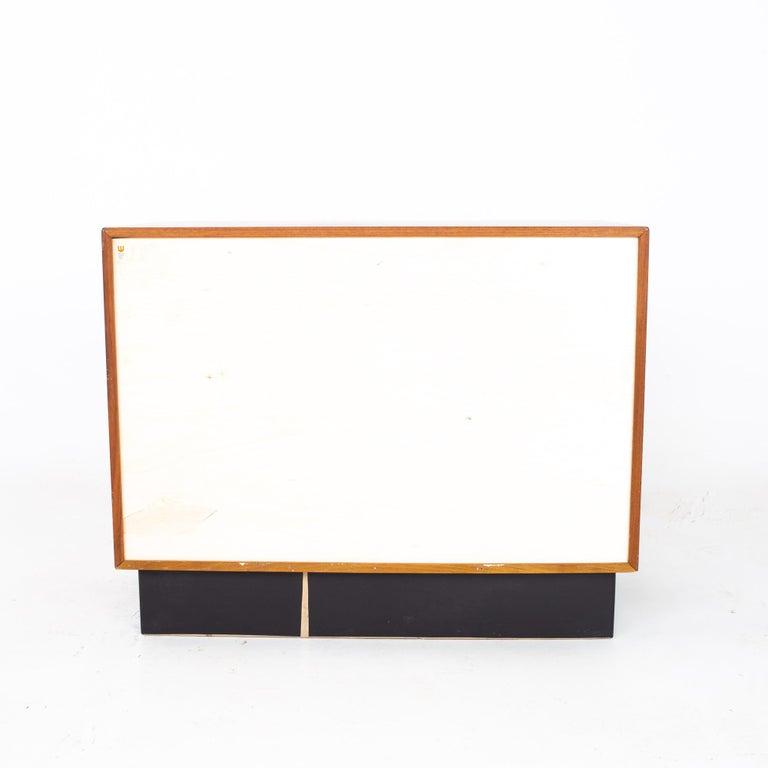 Westnofa Mid Century Teak 3 Drawer Dresser Chest - Pair For Sale 7