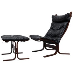Westnofa Siesta Lounge Chair and Ottoman