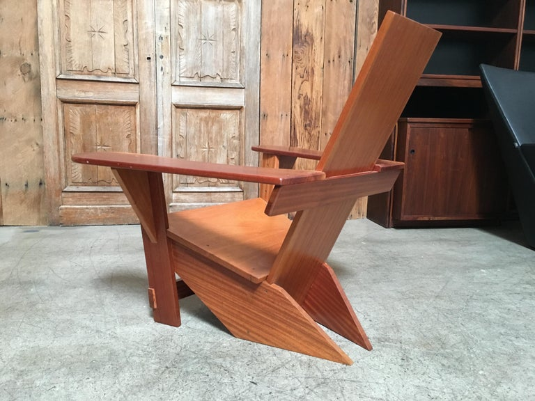Westport Adirondack Lounge Chair For Sale At 1stdibs