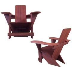 Westport Chairs in Mahogany