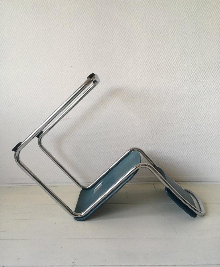 W.H. Gispen Dining Room Chairs, Model 101, Wood, Gebroeders van der Stroom, 2004 For Sale 3