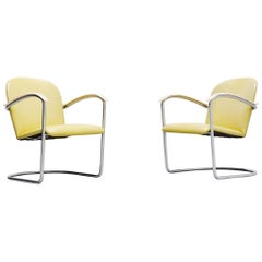 WH Gispen Lounge Chairs Model 414 TH Delft, 1961
