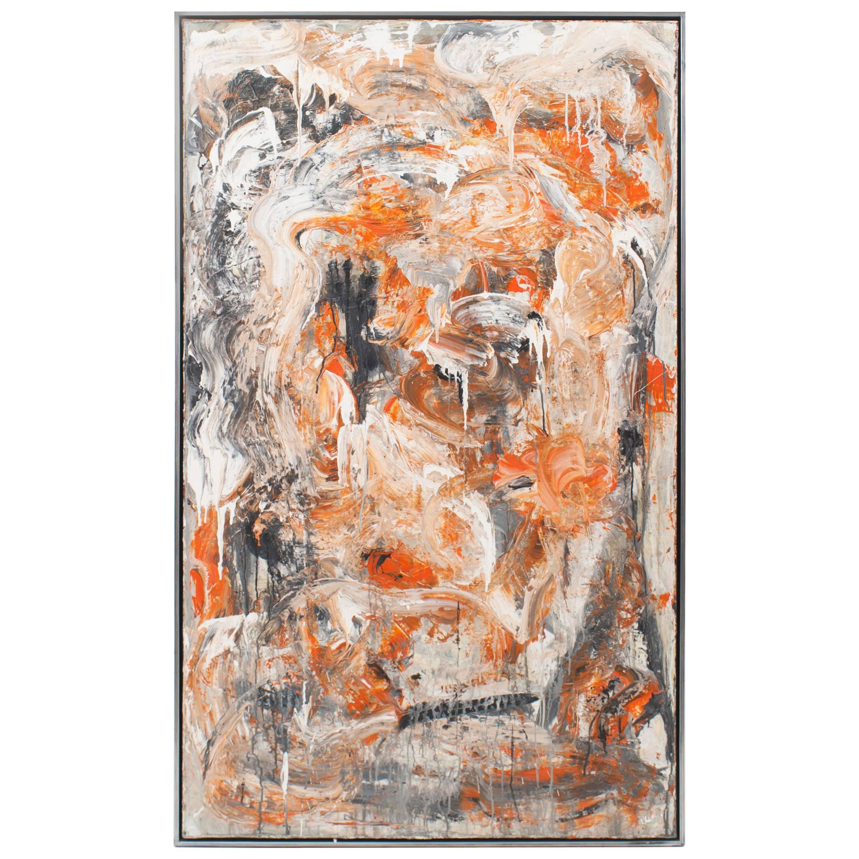 """""""Whacko"""" Painting by Ricardo Rumi, 2009"""