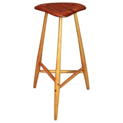 Wharton Esherick, Studio Crafted Stool, 1968
