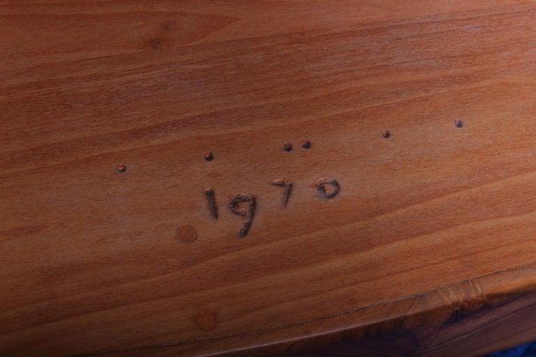 Wharton Esherick Table, 1970 For Sale 10