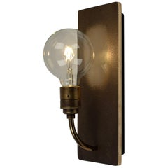 What Wall Sconce in Bronze by Jacco Maris