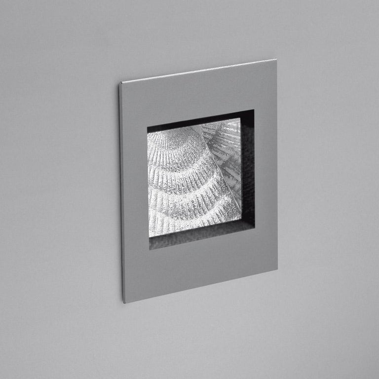 Modern Artemide Aria Micro Outdoor Recessed Light in White by Massimo Sacconi For Sale