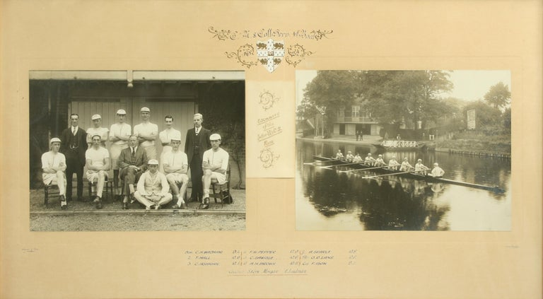 Sporting Art University Rowing Photograph For Sale