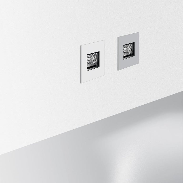 Italian Artemide Aria Micro Outdoor Recessed Light in White by Massimo Sacconi For Sale