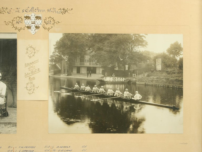 British University Rowing Photograph For Sale