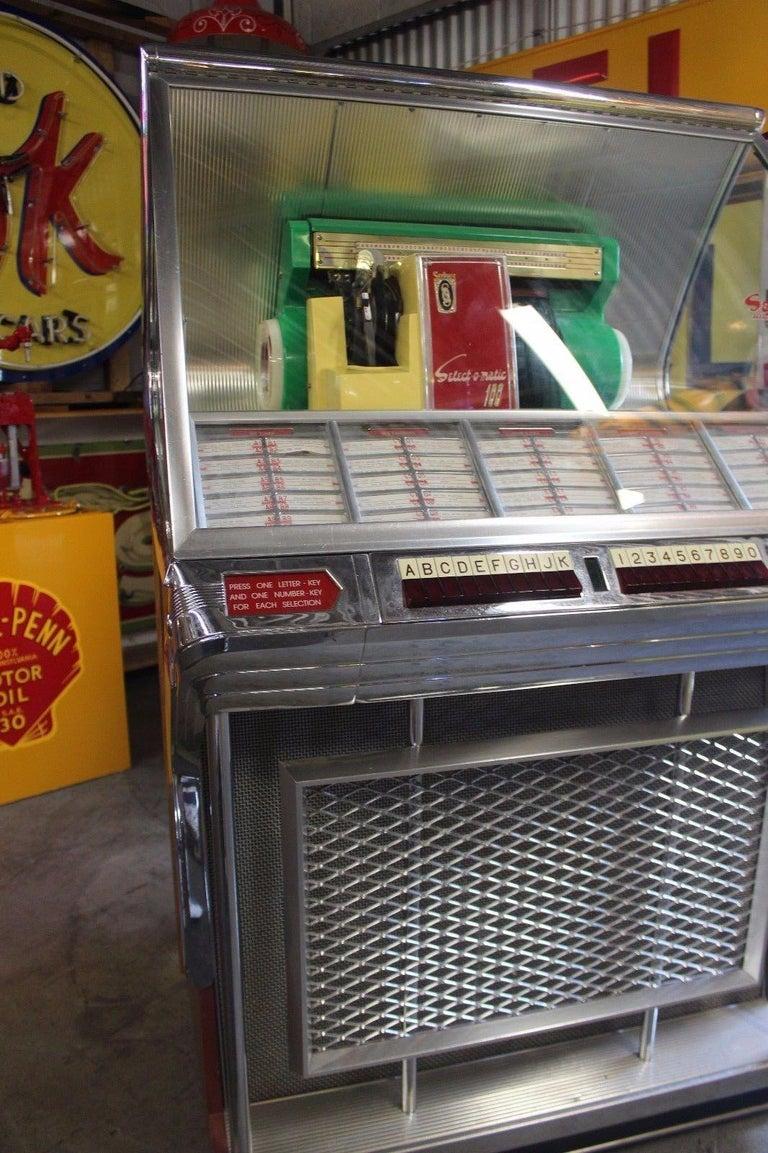 1955 Seeburg Select-o-Matic Model 100JL Jukebox 45 rpm at ...