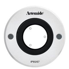 Artemide Ego 90 Round 10° Downlight in Aluminum by Ernesto Gismondi