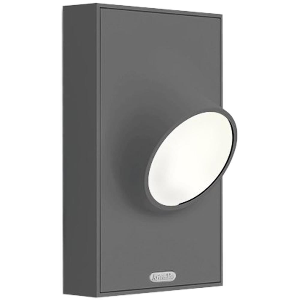 Artemide Ciclope Wall Light in Gray by Alessandro Pedretti