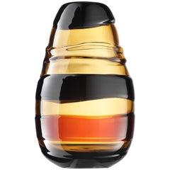 Salviati Large Sassi Vase in Caramel by Luciano Gaspari