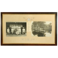 University Rowing Photograph