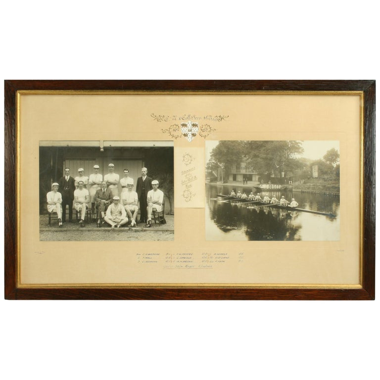 University Rowing Photograph For Sale