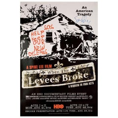 When the Levees Broke A Requiem in Four Acts 2006 U.S. One Sheet Film Poster Si