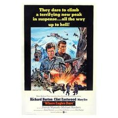 Where Eagles Dare '1968', Poster