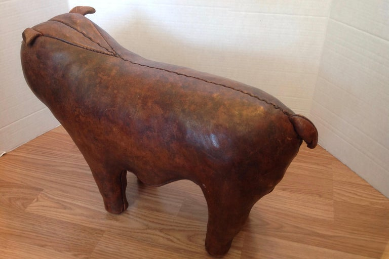 Whimsical Abercrombie's Bulldog Foot Rest by Dimitri Omersa For Sale 3
