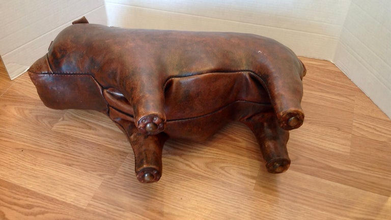 Whimsical Abercrombie's Bulldog Foot Rest by Dimitri Omersa For Sale 5
