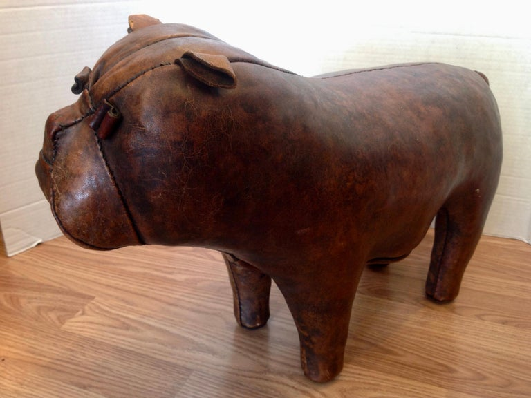Whimsical Abercrombie's Bulldog Foot Rest by Dimitri Omersa For Sale 2