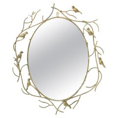 Whimsical Bird Mirror