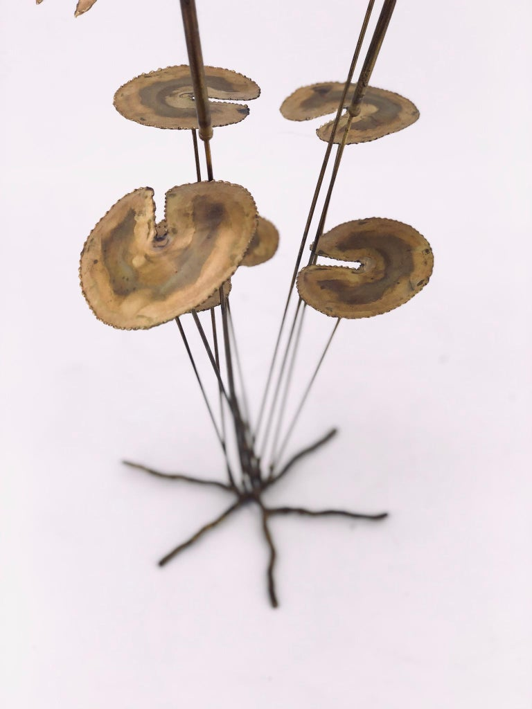 American Whimsical Brass Sculpture in the Style of Curtis Jere For Sale