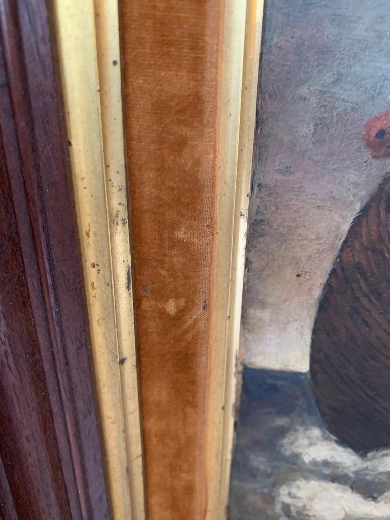 Whimsical Original Noah's Ark Painting by Charles Burdick For Sale 3