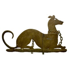Whippet Weathervane