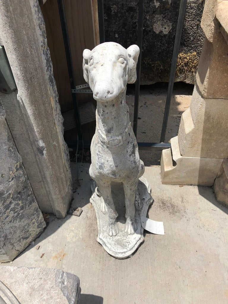 French Whippit Dog Sculptures For Sale