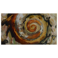 Whirlwind, Large Color Photograph Mounted on Plexiglass