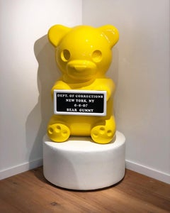 4 Foot Yellow Vandal Gummy Bear
