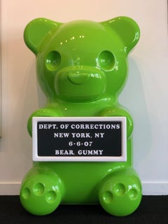 4ft Green Vandal Gummy Bear