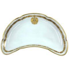 Italian Military Bone Dish Vide-Poche
