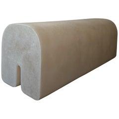 White Arch Bench by Karstudio