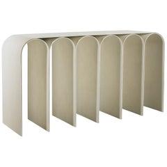 White Arch Console by Pietro Franceschini