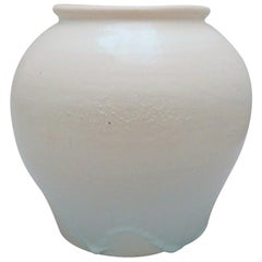 White Art Deco Vase