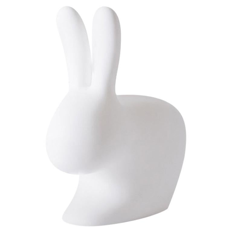 In Stock in Los Angeles, White Baby Rabbit Chair, Made in Italy