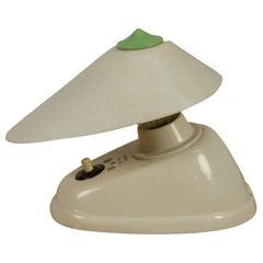 White Bakelite Table or Wall Lamp, 1960s