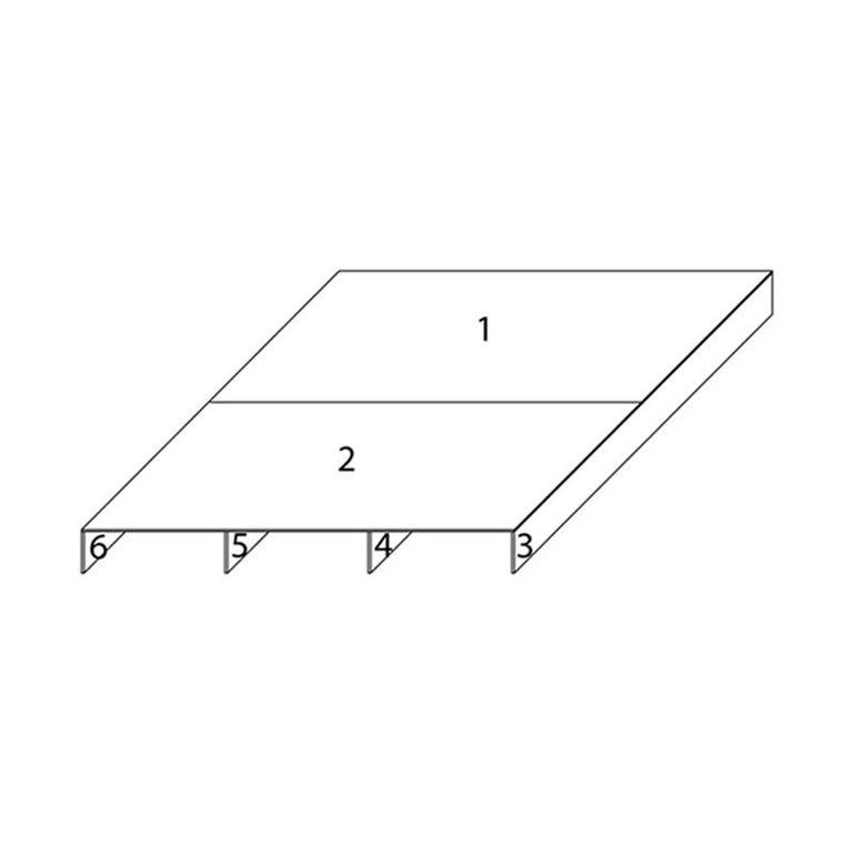 White Aluminum Bed Platform by Lenka Ilic In New Condition For Sale In New York, NY