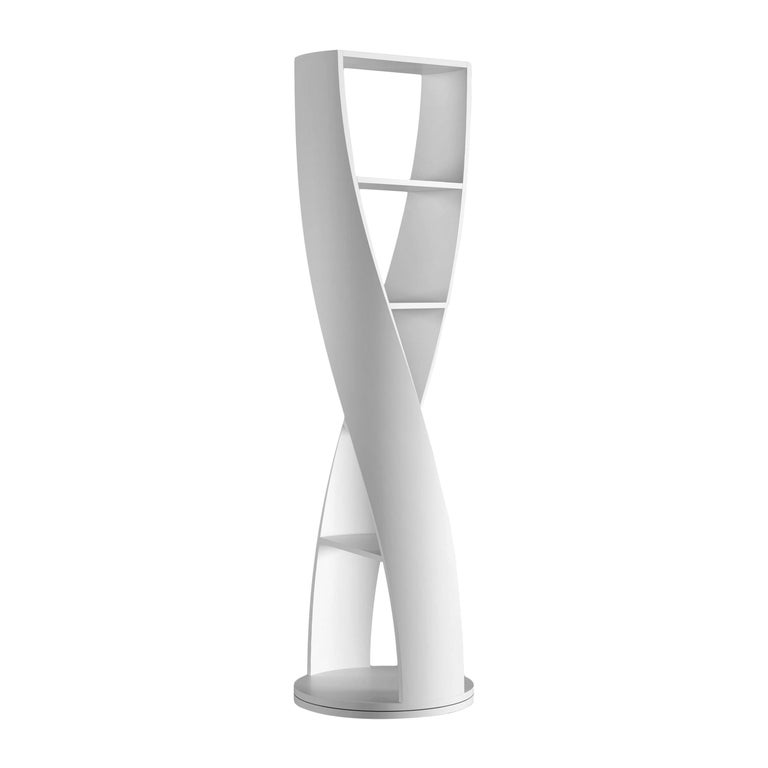 White Bookcase and Storage System, MYDNA Collection by Joel Escalona For Sale