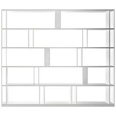 White Brera Bookcase, by Lievore Altherr Molina, in Stock in Los Angeles